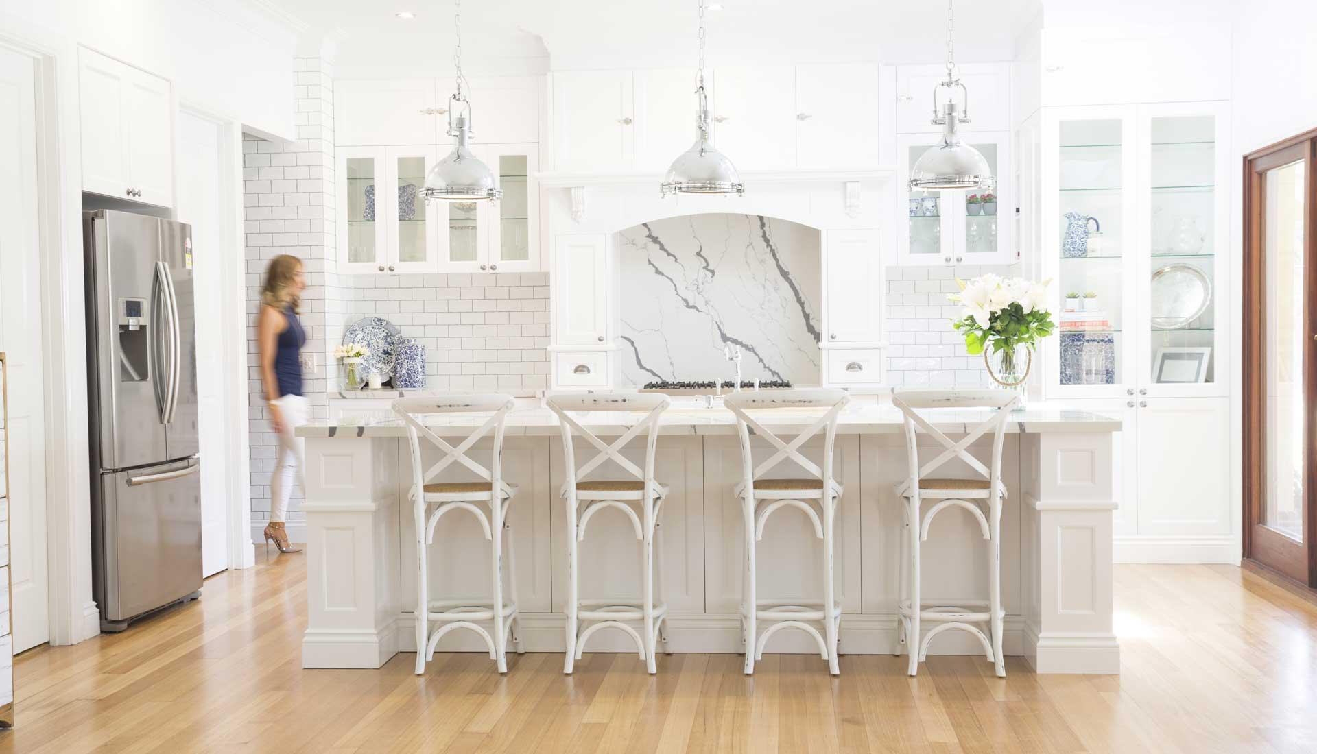 kitchen renovation services page design by danni