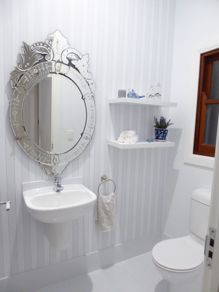 Kids toilet complete after renovation