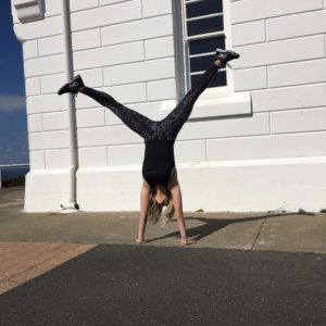 Handstands at the Byron Bay Lighthouse!