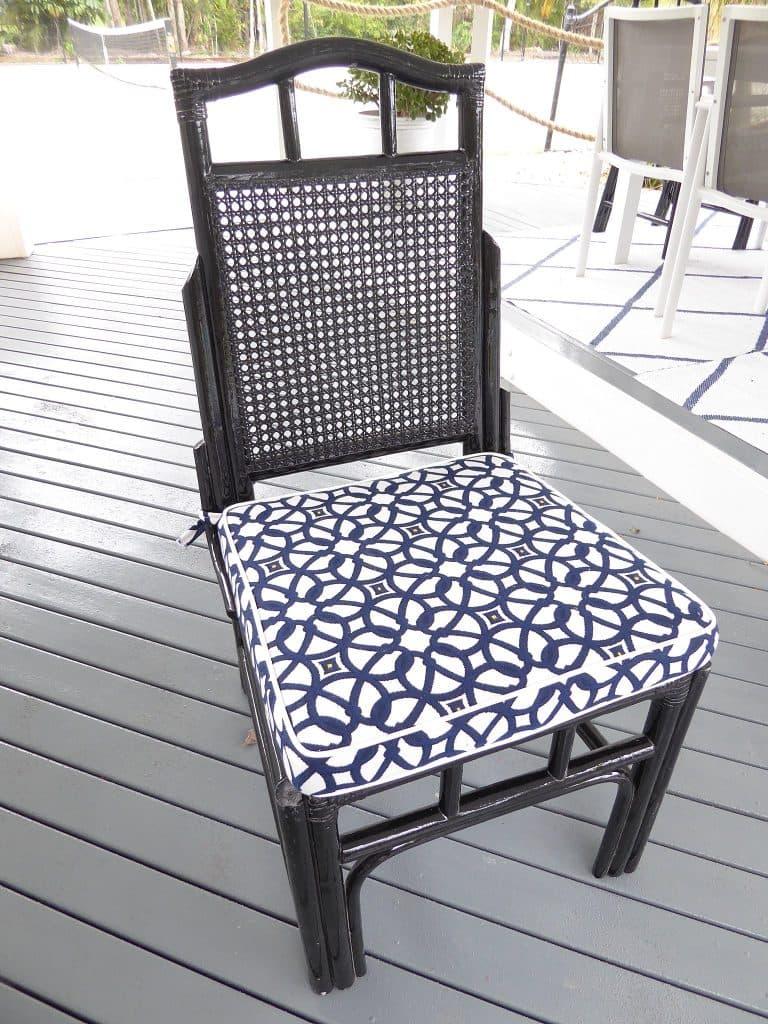 gazebo cane chair after