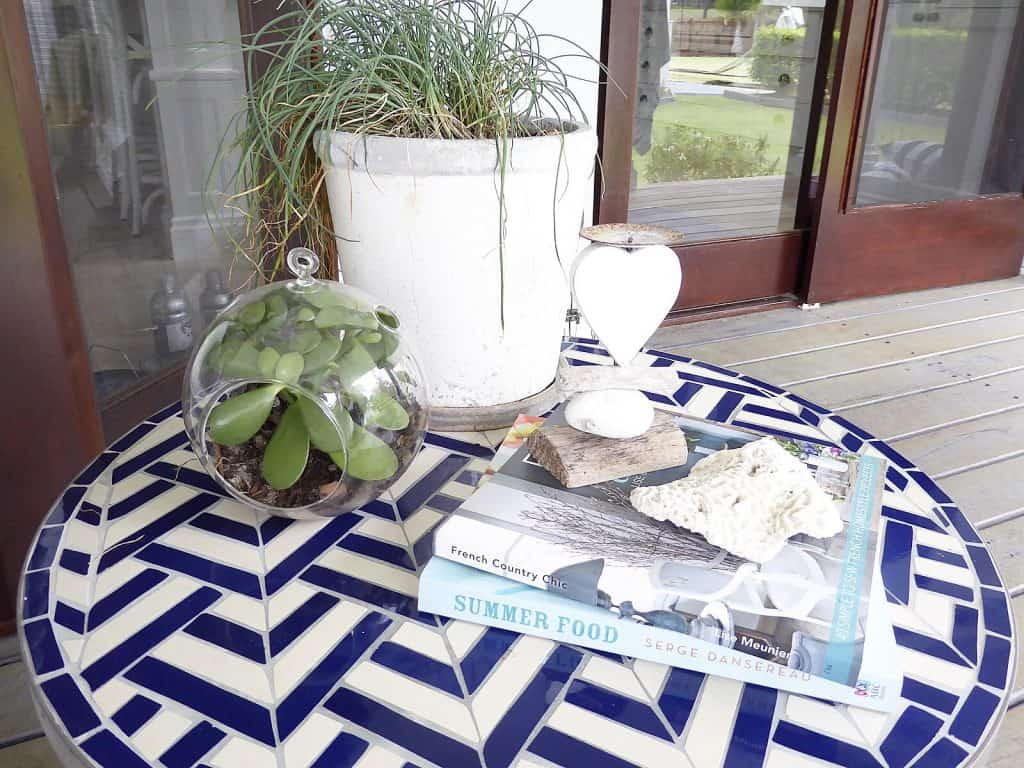 verandah outdoor lounge after photos freedom side table close up and decor