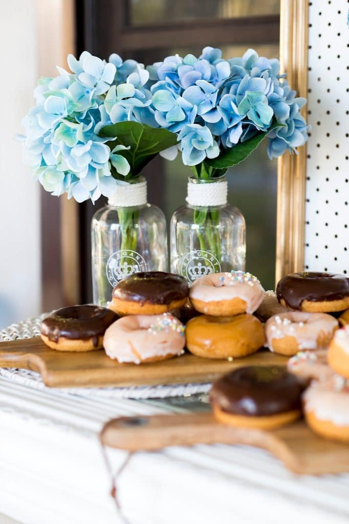 engagement party donut detail