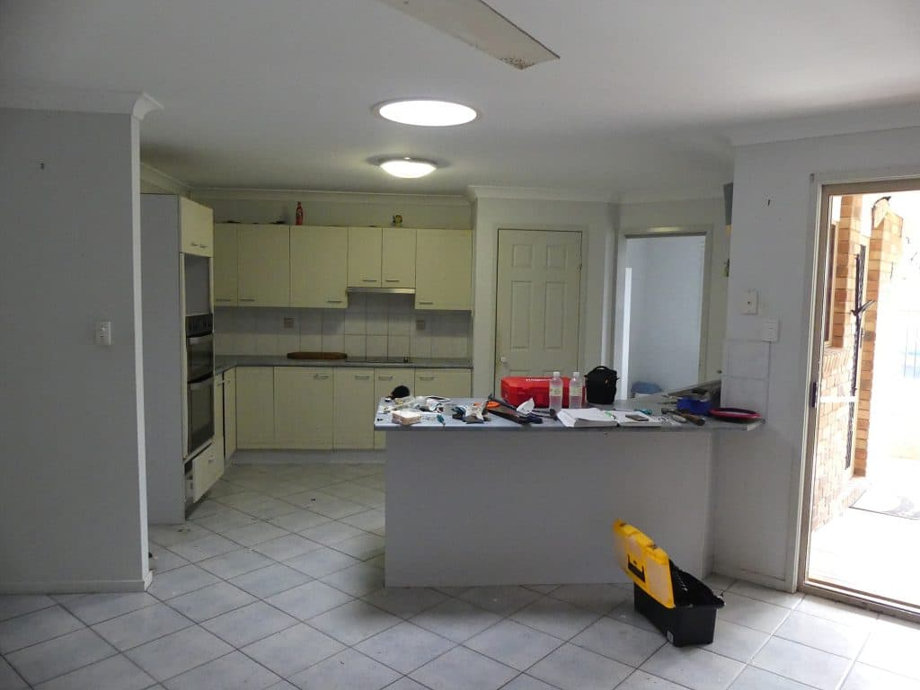 Tewantin Kitchen before renovation