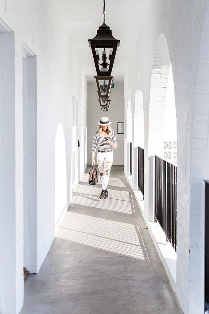 halcyon house exterior hallway