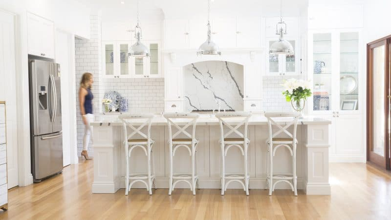 My renovation magazine - hamptons style kitchen renovation
