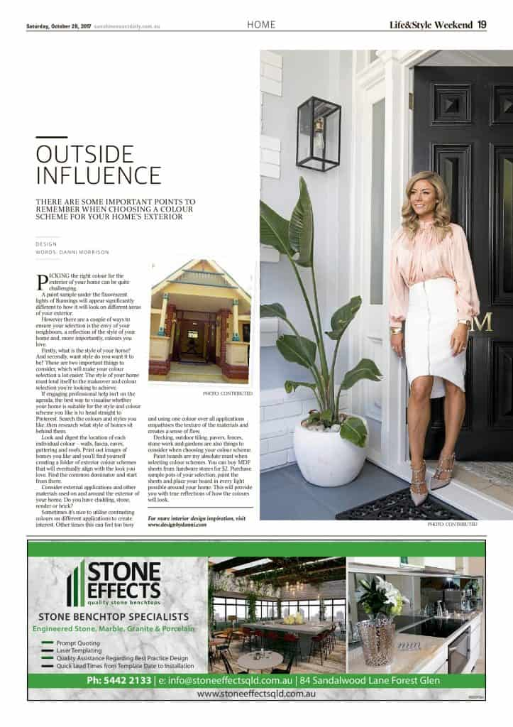 The Sunshine Coast Daily weekend edition Life and Style magazine - Outside Influence