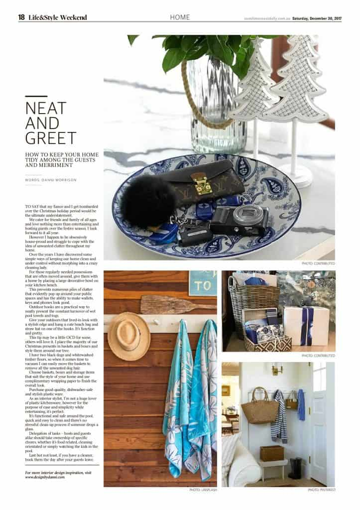 The Sunshine Coast Daily weekend edition Life and Style magazine - Neat and Greet