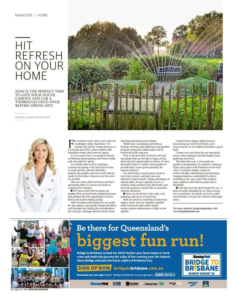 The Sunshine Coast Daily weekend edition Life and Style magazine - Hit Refresh on your Home