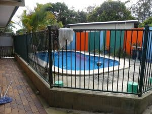 Tewantin Back Exterior - Original pool area