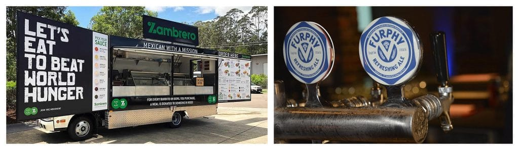 Race Weekend at the Sunshine Coast Turf Club - Zambrero Mexican and Furphy Beer