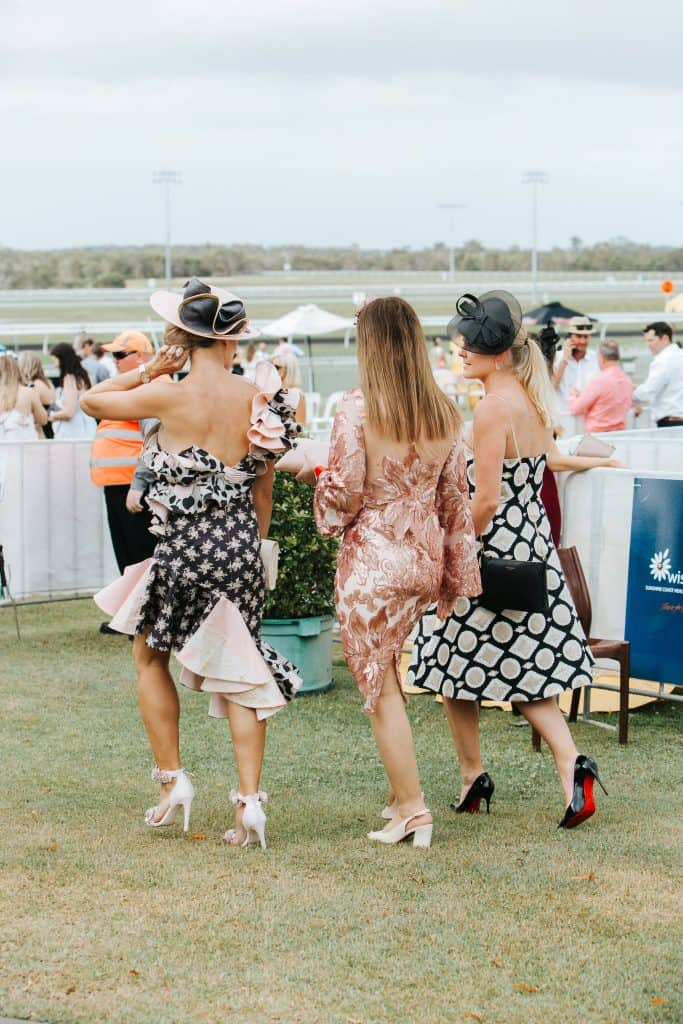 Race Weekend at the Sunshine Coast Turf Club - Ladies Oaks Day promotion ladies