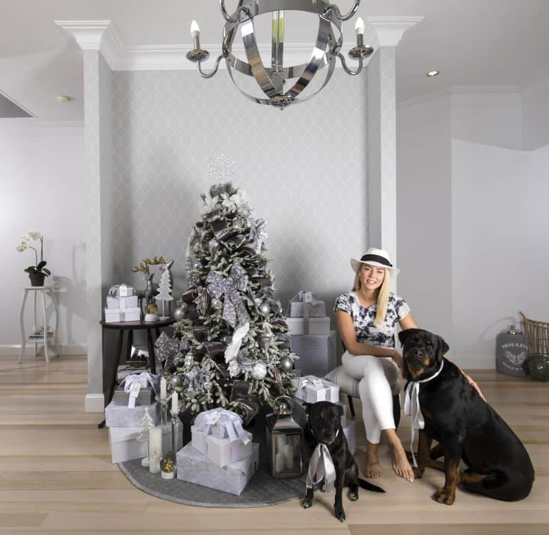 Balsam Hill Christmas Collaboration - feature image with Pipi and Bozley