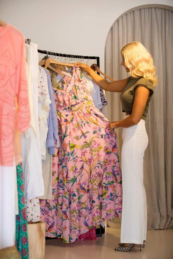 Danni's top 5 must visit locations on the sunshine coast - Bedouin Traders Mooloolaba Banjanan dress