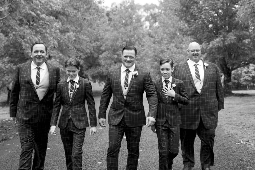 the final wedding blog - my handsome groomsmen